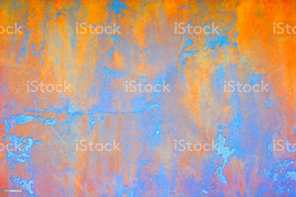 Background: Irridescent Plaster stock photo