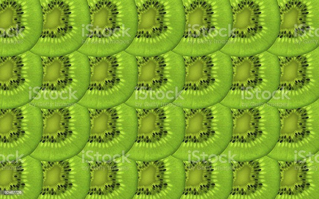 Background: Kiwi Slices royalty-free stock photo