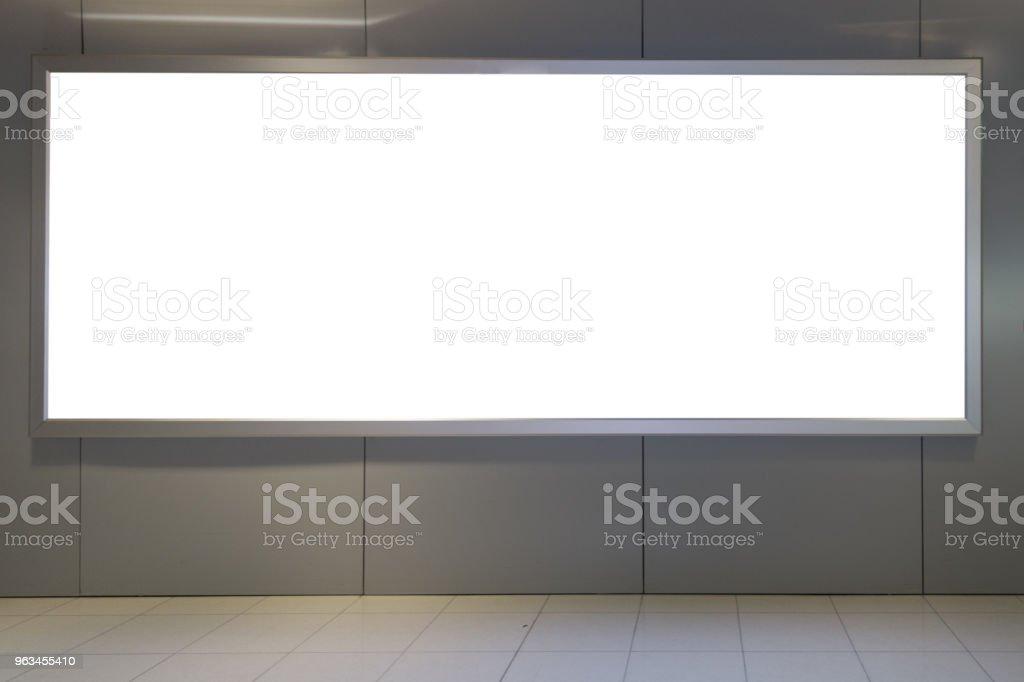 tło duże reklamy LCD - Zbiór zdjęć royalty-free (Billboard)