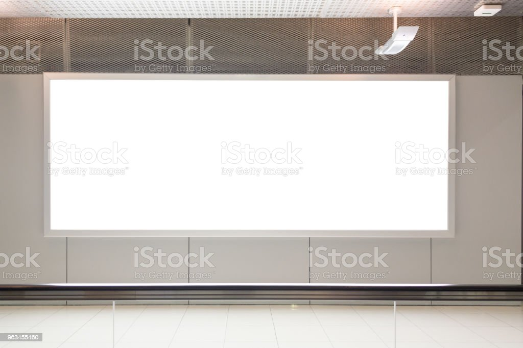 publicité de LCD grande fond - Photo de Affaires libre de droits