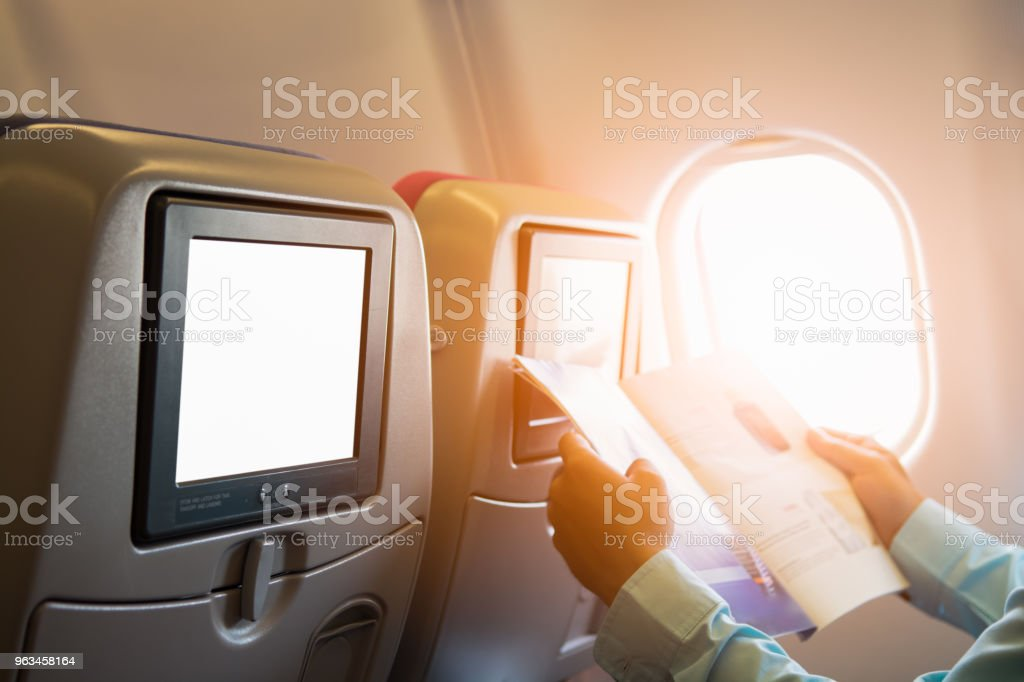 Anuncio de LCD grande fondo - Foto de stock de Aeropuerto libre de derechos