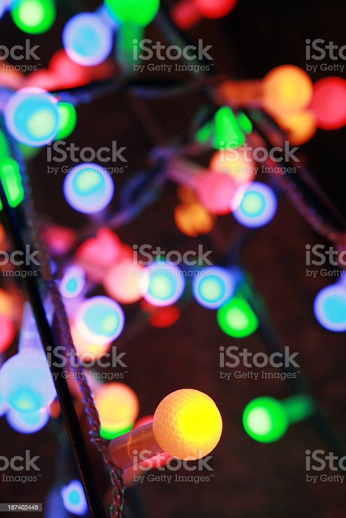 background lights (XL) royalty-free stock photo