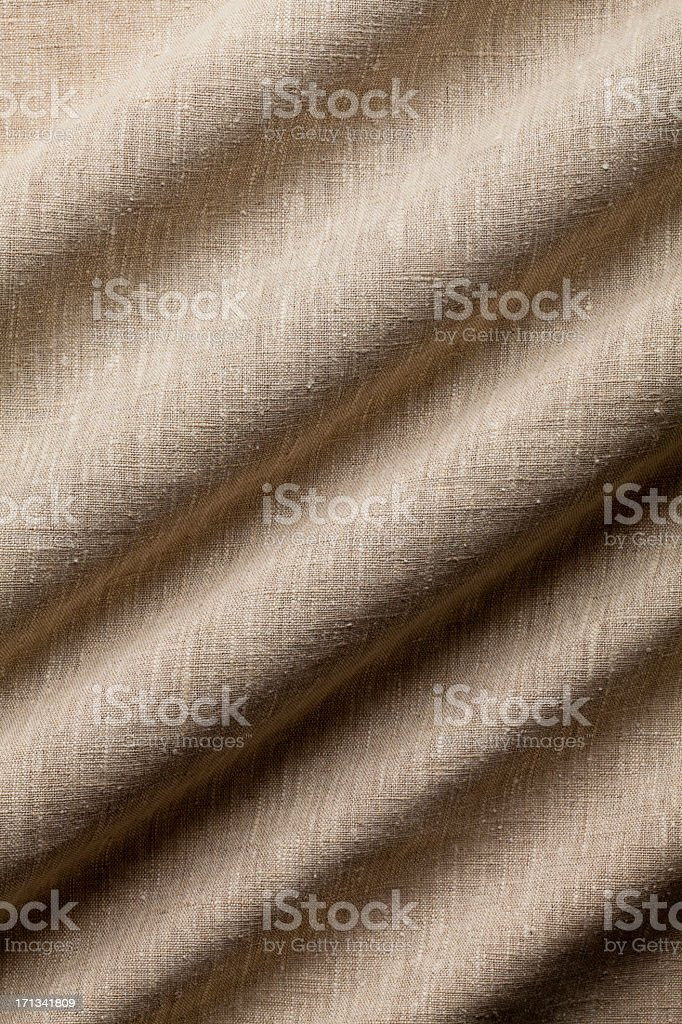 Background - Linen Fabric with Great Weave and Texture. royalty-free stock photo