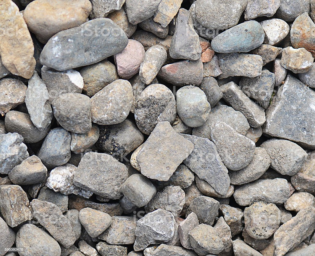 Background made a closeup of cobblestones pattern floor royalty-free stock photo
