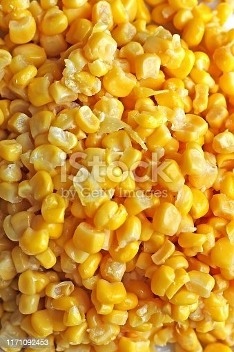 Background made of corn. Food background