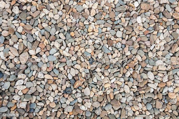 Photo of Background made of multicolored pebbles
