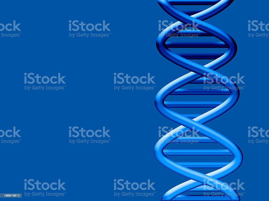 Background - Medical DNA royalty-free stock photo
