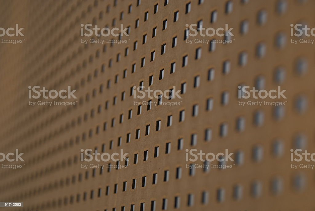 Background Metal Grid Pattern with Abstract Repetition royalty-free stock photo