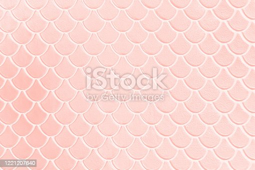 Background Millennial Pink Pale Mermaid Pattern Pastel Texture Abstract Fish Dragon Reptile Dinosaur Scale Snake Skin Pearl Shiny Toned Macro Photography Copy Space Design template for presentation, flyer, card, poster, brochure, banner