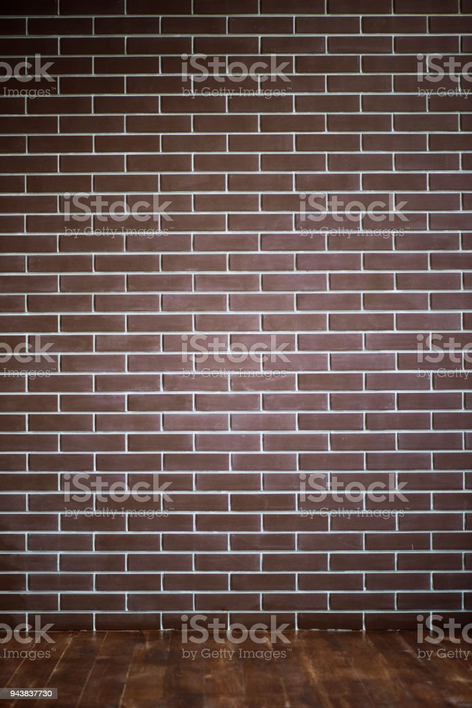 background of a brick dark wall, tile texture with a smooth pattern стоковое фото
