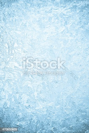 istock Background of a frosted over window 470650659