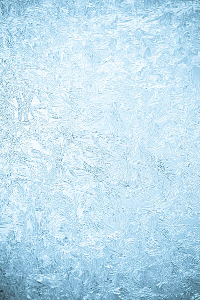 background of a frosted over window - frozen stock pictures, royalty-free photos & images