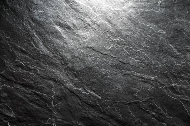 Hintergrund eines schwarzen Stein closeup – Foto
