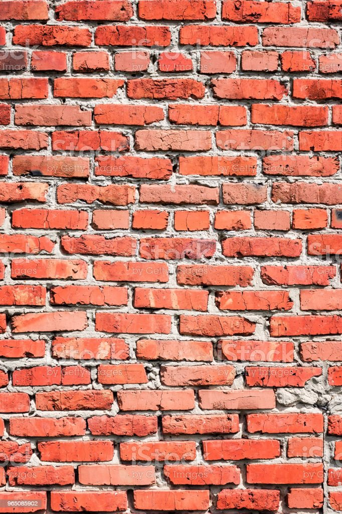 background of a red brick wall royalty-free stock photo