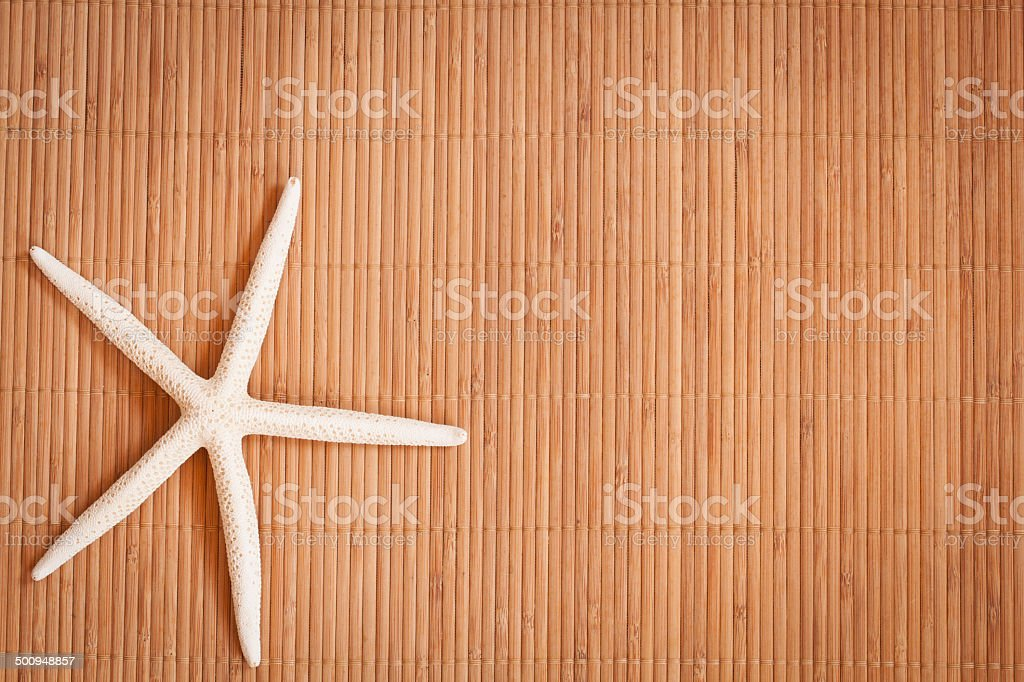 Background of a straw mat stock photo