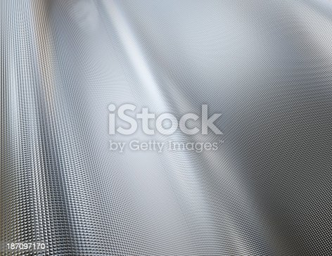 istock Background of a textured metal sheet 187097170