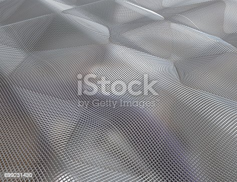 istock Background of a textured metal sheet 699231430