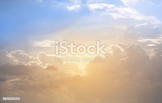 917116520 istock photo Background of abstract colorful Cloud and sky. 885856050
