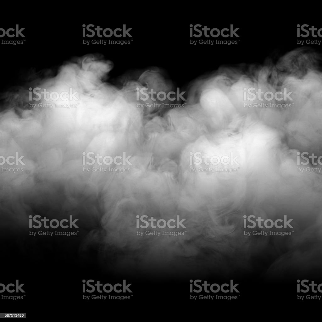 Background of abstract grey color smoke. – Foto