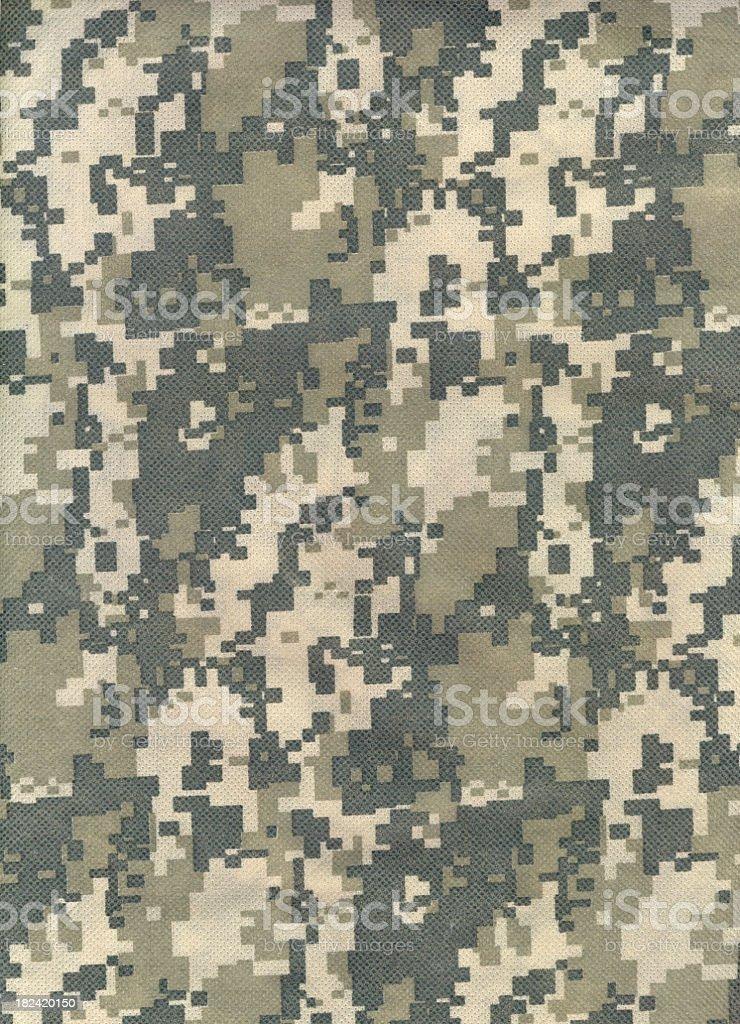 Background of advanced combat uniform camouflage pattern royalty-free stock photo