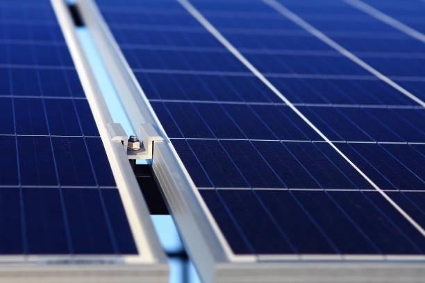 Hintergrund alternativer Solarenergie – Foto