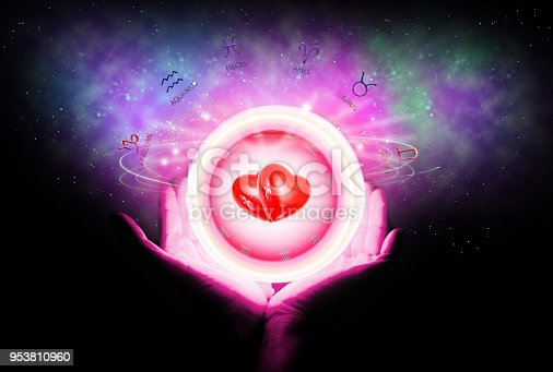 815224118 istock photo background of astrology and love concept. 953810960