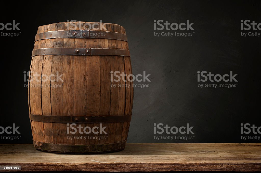 background of barrel stock photo