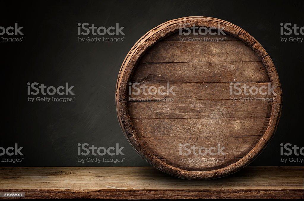 background of barrel stock photo