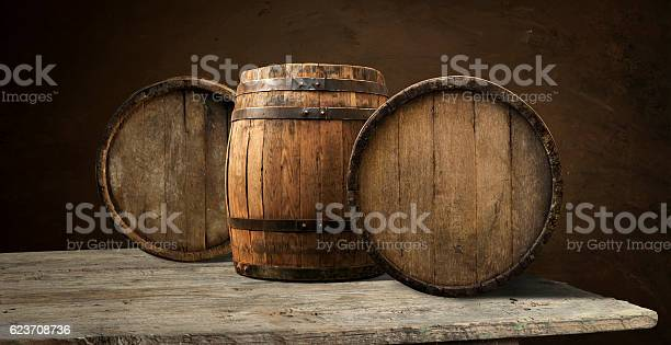 background of barrel, wood, black wooden cork