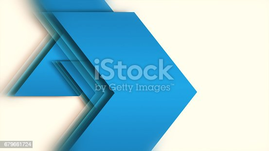 istock Background of Big Arrows 679661724