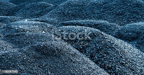 istock Background of black coal 1183081343