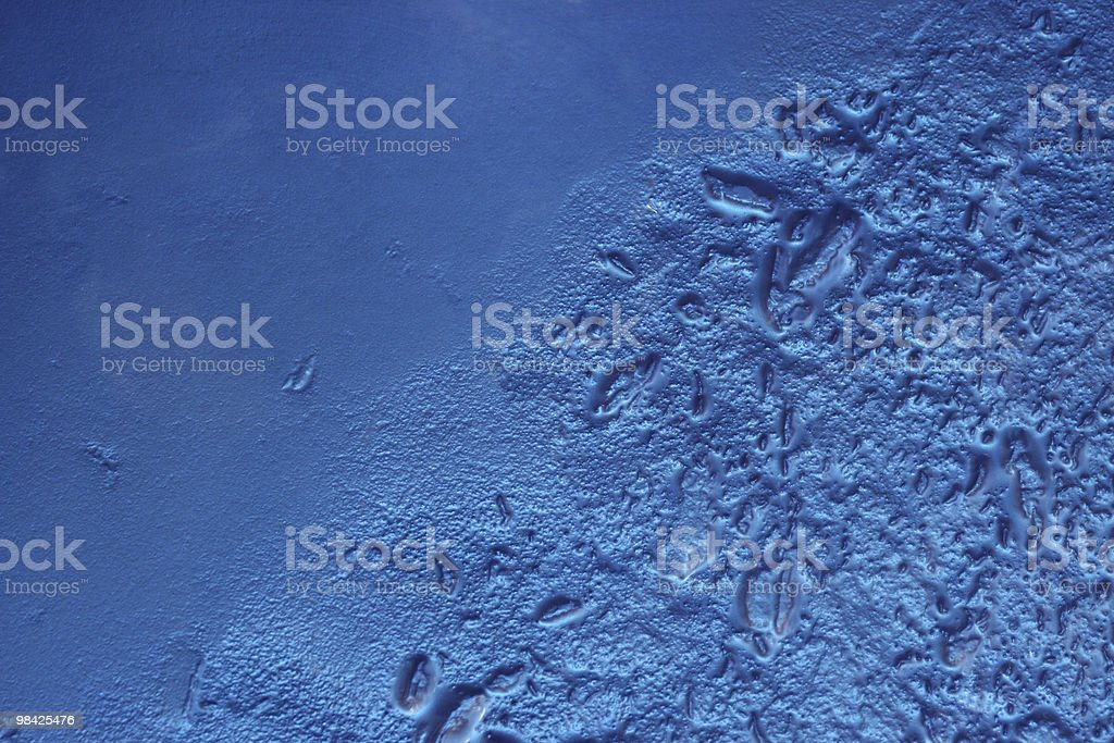 Sfondo di vetro blu foto stock royalty-free
