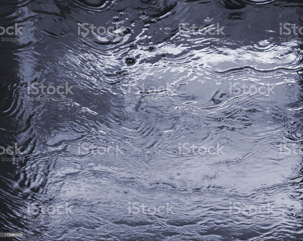 Background of blue water royalty-free stock photo