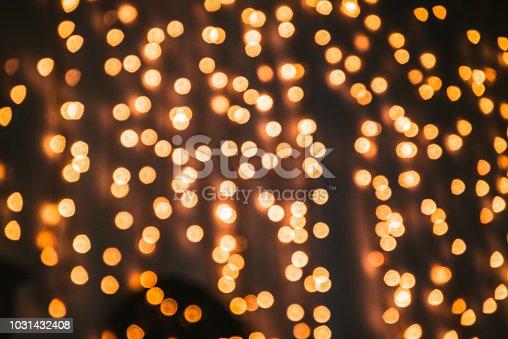 929640504istockphoto Background of blurred lights 1031432408