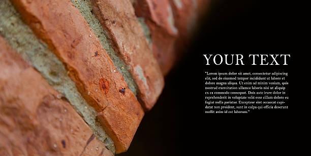background of brick arches walls conception. - bogen bauen stock-fotos und bilder