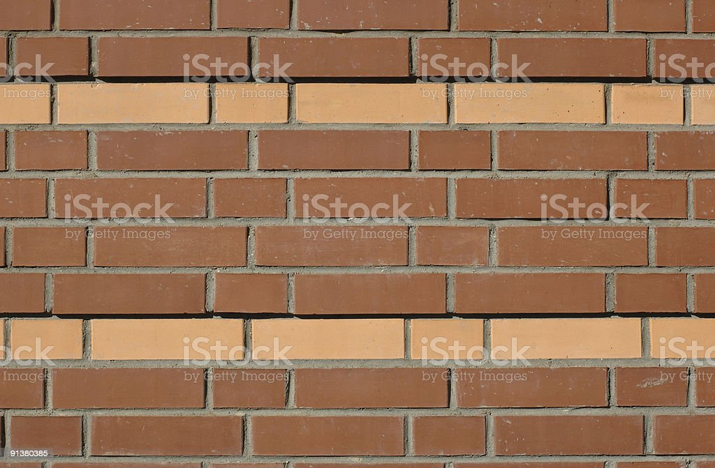 Background of brick wall royalty-free stock photo