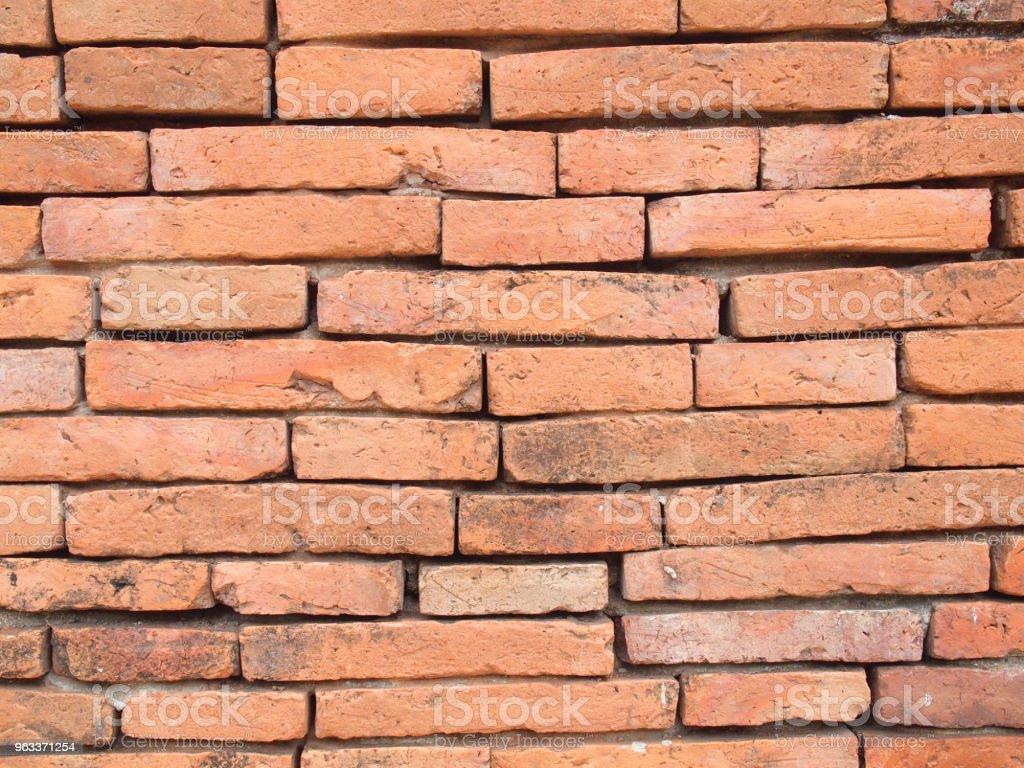 Background of brick wall texture - Zbiór zdjęć royalty-free (Antyczny)