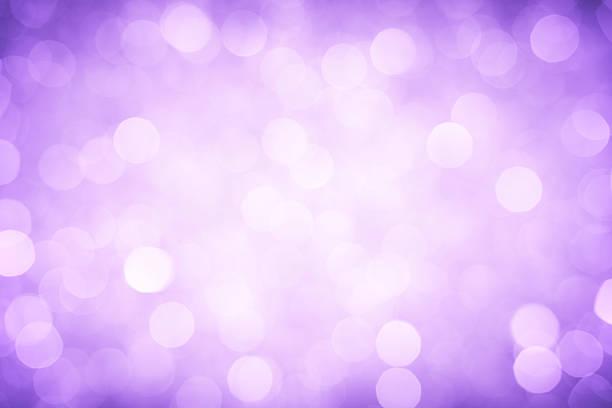 Unscharf gestellt Lichter Lila – Foto