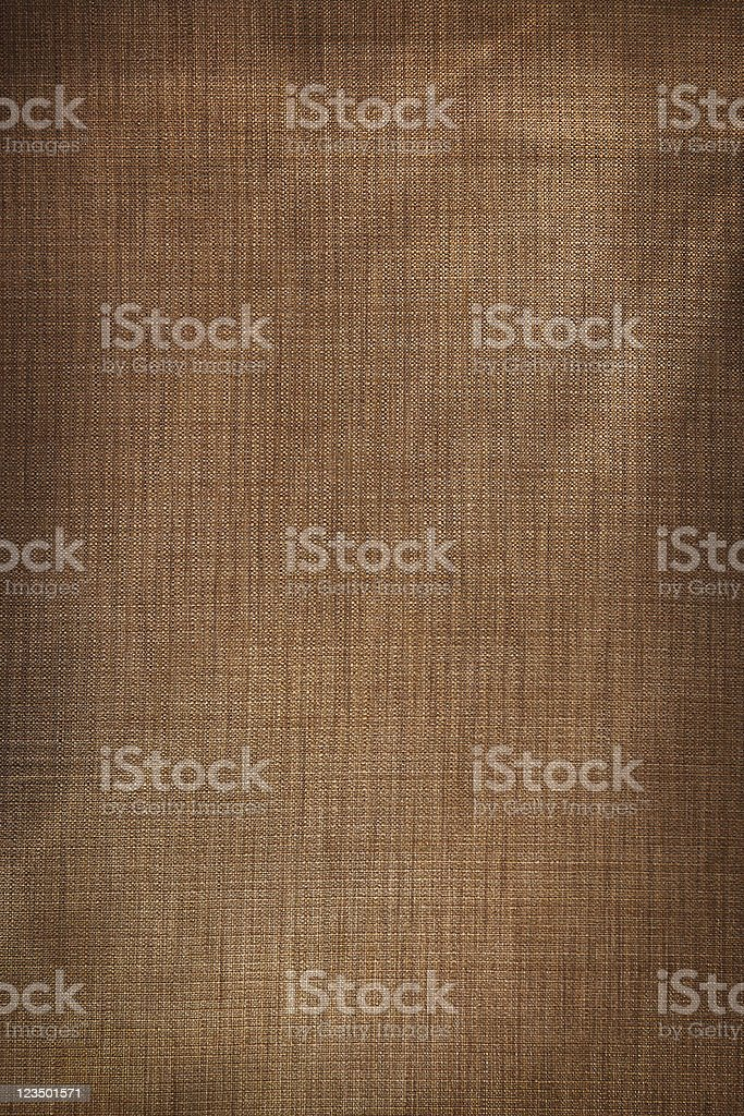 Background of Brown Burlap stock photo
