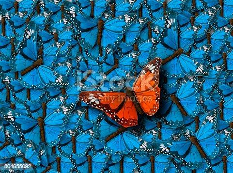 istock Background of Buterflies 804655092