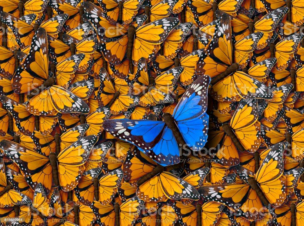 Background of Buterflies stock photo