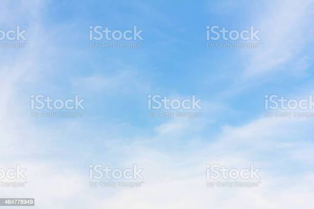 Photo of background of  cloudy blue sky