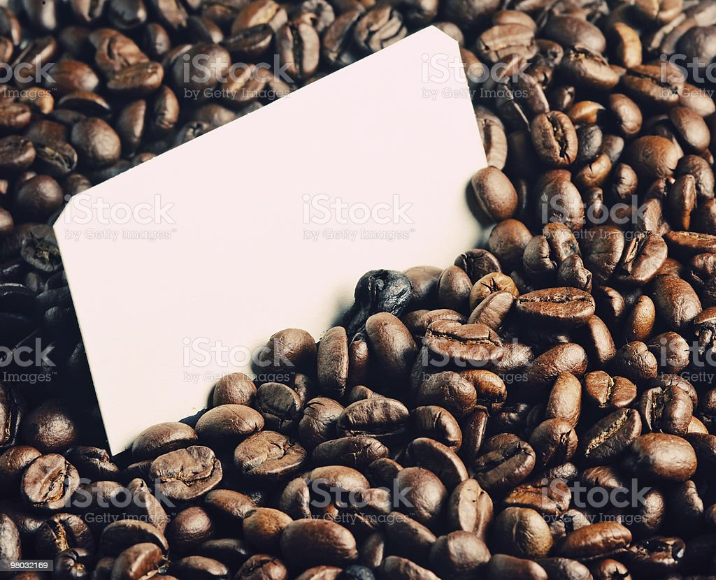 background of coffee beans royalty-free stock photo