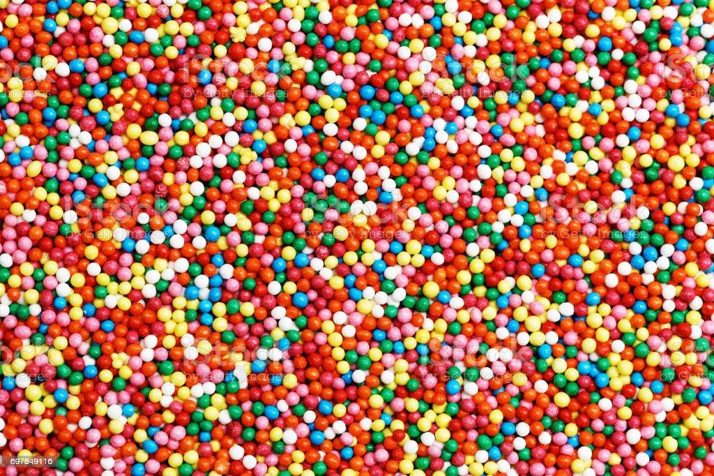 Hintergrund der bunten rundes Bonbons – Foto