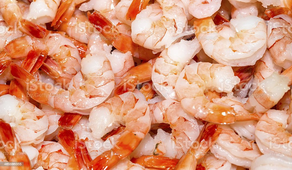 background of cooked shrimp royalty-free stock photo