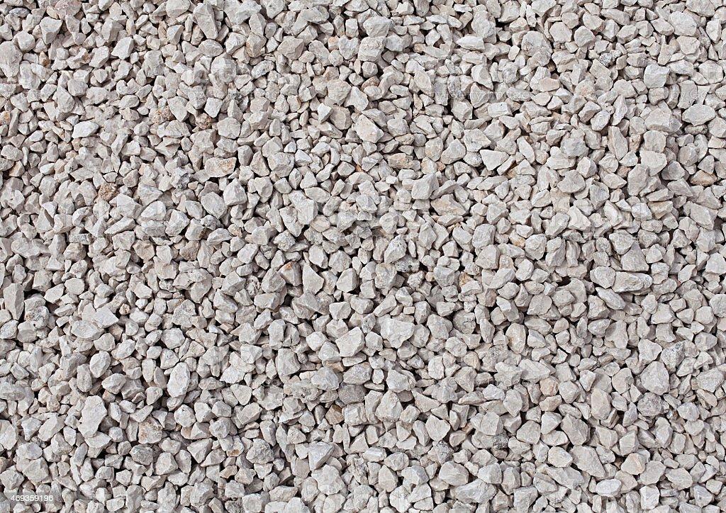 background of crushed stone stock photo