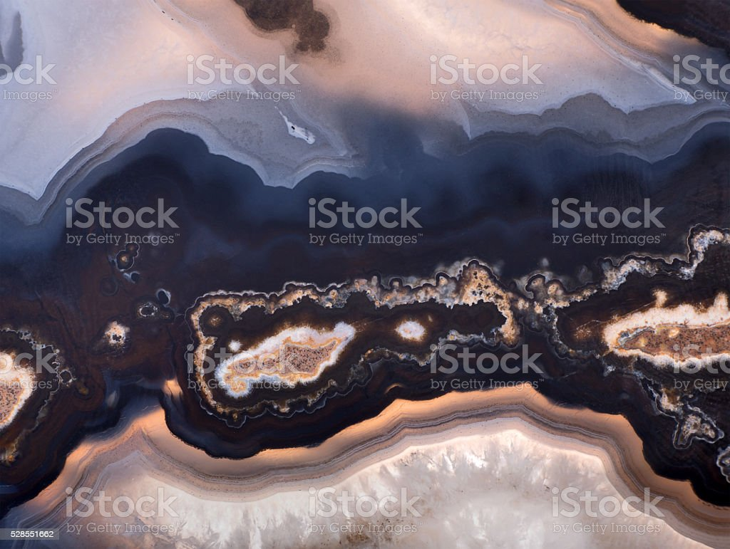background of dark agate structure stock photo