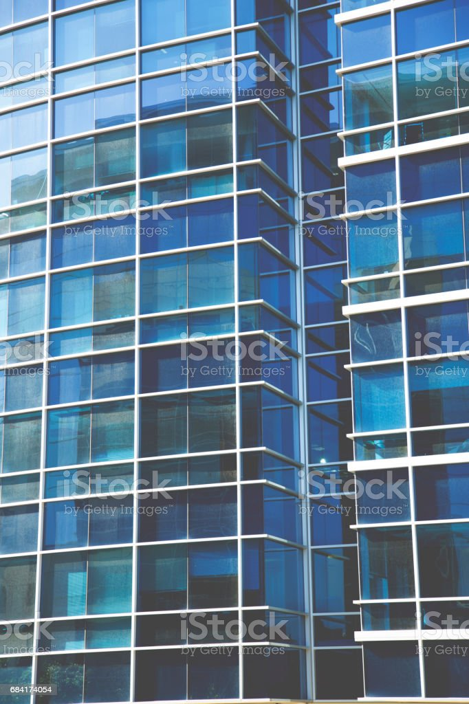Background of downtown city skyscraper during daytime. royalty-free stock photo