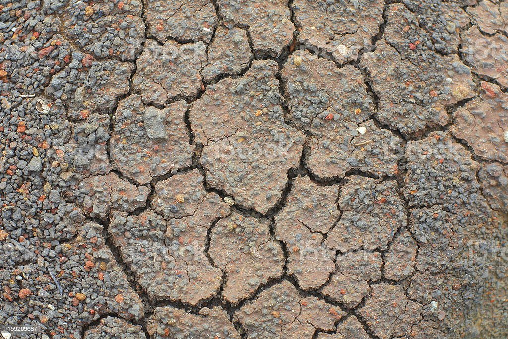 background of dry soil royalty-free stock photo