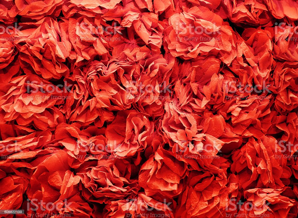 Background of flowers made from red a crepe paper stock photo more background of flowers made from red a crepe paper royalty free stock photo mightylinksfo
